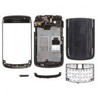 For BlackBerry Bold 9700 Complete Housing Replacement ,Black - Grade S+
