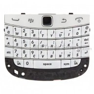 For BlackBerry Bold Touch 9900/9930 Keyboard and Flex Cable Ribbon and Keypad Assembly Replacement - White - Grade S+