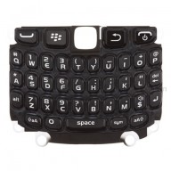 For BlackBerry Curve 9220 QWERTY Keypad with Bezel  Replacement ,Black - Grade S+