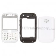 For BlackBerry Curve 9320 Complete Housing Replacement ,White - Grade S+
