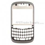 For BlackBerry Curve 9320 Front Housing Replacement ,Gray - Grade S+