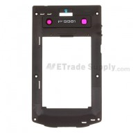 For BlackBerry Porsche Design P'9981 Rear Housing Replacement - Black - Grade S+