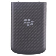 For BlackBerry Q10 Battery Door Replacement - Black - Grade S+
