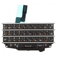 For BlackBerry Q10 Keypad and Keyboard Assembly  Replacement (Arabic) - Black - Grade S+