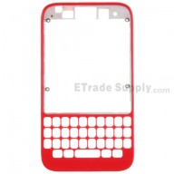 For BlackBerry Q5 Front Housing Replacement - Red - Grade S+