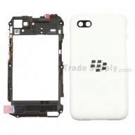 For Blackberry Q5 Rear Housing Assembly Replacement - White - Grade S+