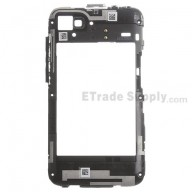 For Blackberry Q5 Rear Housing with Small Parts Replacement - Black - Grade S+