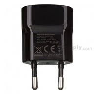 For BlackBerry Z10 Charger (Eur Plug) - Black - Grade S+