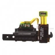 For BlackBerry Z10 Earphone Jack Flex Cable Ribbon  Replacement (4G Version) - Grade S+
