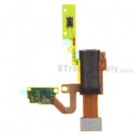 For BlackBerry Z10 Earphone Jack Flex Cable Ribbon Replacement (3G Version) - Grade S+
