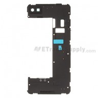 For BlackBerry Z10 Rear Housing Replacement (3G Version) ,Black - Grade S+