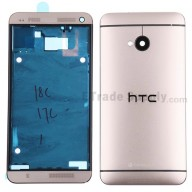 For HTC One Housing Replacement (International Version) - Gold - Grade S+