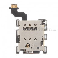 For HTC One M8 SIM Card Reader Contact with Flex Cable Ribbon Replacement - Grade S+