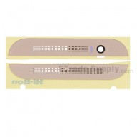 For HTC One M8 Top Cover and Bottom Cover Replacement - Gold - Grade S+