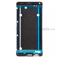 For HTC One Max Front Housing without Bottom Cover Replacement - Black - Grade S+