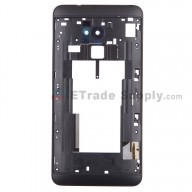 For HTC One Max Rear Housing Replacement - Black - Grade S+