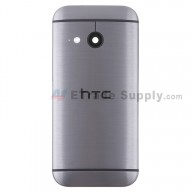 For HTC One Mini 2 Rear Housing Replacement (Gray) - With Logo - Without Words - Grade S+