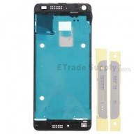 For HTC One Mini Front Housing Replacement - White - Grade S+