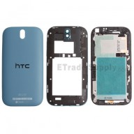 For HTC One SV Housing Replacement (4G LTE) - Blue - Grade S+