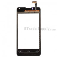 For Huawei Ascend Y300 Digitizer Touch Screen Replacement - Black - With Logo - Grade S+