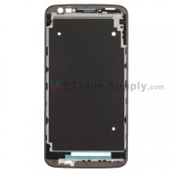 For LG G2 D800 Front Housing Replacement - Black - Grade S+