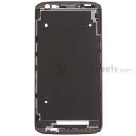 For LG G2 D802 Front Housing Replacement - Black - Grade S+