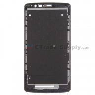 For LG G3 LS990/VS985/D850/D851/D855 Front Housing Replacement - Black - Grade S+