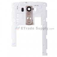 For LG G3 D855 Rear Housing Assembly Replacement - Gold - Grade S+