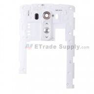 For LG G3 D855 Rear Housing Assembly Replacement - White - Grade S+