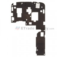 For LG Nexus 4 E960 Rear Housing with Ear Speaker and Vibrating Motor Replacement - Grade S+