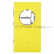 For Nokia Lumia 1020 Rear Housing Assembly Replacement (International Version) - Yellow - Grade S+