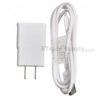 For Samsung Galaxy Note 3 Series Charger and USB Data Cable Replacement - White - Grade S+