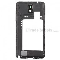 For Samsung Galaxy Note 3 SM-N900A Rear Housing Replacement - Black - Grade S+