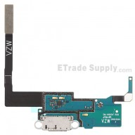 For Samsung Galaxy Note 3 SM-N900V Charging Port Flex Cable Ribbon Replacement - Grade S+