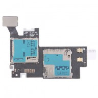 For Samsung Galaxy Note II LTE N7105 SIM Card and SD Card Reader Contact Replacement - Grade S+