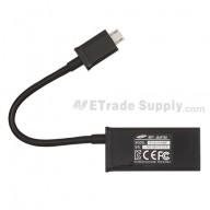 For Samsung Galaxy Note II N7100/SCH-I605/R950/T889/L900 HDMI Adapter and Data Cable Replacement - Grade S+