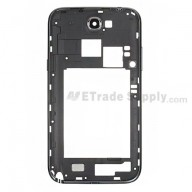 For Samsung Galaxy Note II N7100 Rear Housing Replacement - Gray - Grade S+