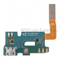 For Samsung Galaxy Note II SGH-T889 Charging Port Flex Cable Ribbon Replacement - Grade S+
