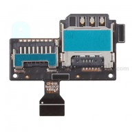 For Samsung Galaxy S4 Mini GT-I9190, GT-I9195 SIM Card and SD Card Reader Contact Replacement - Grade S+