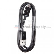 For Samsung Galaxy S4 Series USB Data Cable Replacement - Black - Grade S+