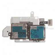 For Samsung Galaxy S III GT-i9305 SIM Card and SD Card Reader Contact Replacement - Grade S+