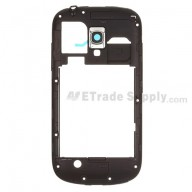 For Samsung Galaxy S III Mini I8190 Rear Housing  Replacement - Blue - Grade S+