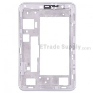 For Samsung Galaxy Tab 2 7.0 P3110 Front Housing Replacement - White - Grade S+