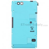 For Sony Xperia go ST27i Middle Plate with Battery Replacement - Turquoise - Grade S+