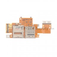 For Sony Xperia Tablet Z SIM Card and SD Card Reader Contact Flex Cable Ribbon Replacement  - Grade S+