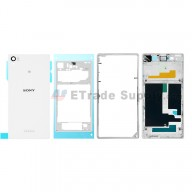 For Sony Xperia Z1 L39h Complete Housing Replacement - White - Grade S+