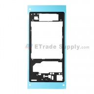 For Sony Xperia Z1 L39h Rear Housing  Replacement - Black - Grade S+