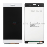 For Sony Xperia Z3 LCD Screen and Digitizer Assembly Replacement - White - Grade A