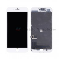 For Apple iPhone 7 Plus LCD Screen and Digitizer Assembly with Frame Replacement - White - Grade S