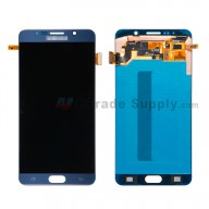 For Samsung Galaxy Note 5 SM-N920F/N920T/N920A/N920P/N920V/N920R4 LCD Assembly with Stylus Sensor Film Replacement - Sapphire - With Logo - Grade S